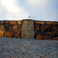 Костел -камень у основания, Белая Церковь