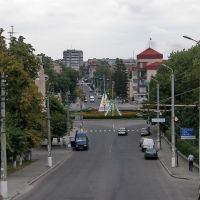 вид на Соборную площадь, Белая Церковь