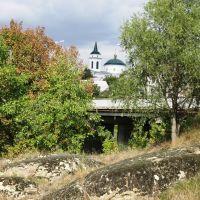 Вид на церкву, Богуслав
