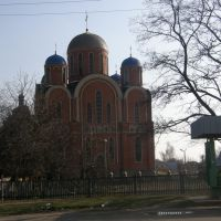Церковь (вид с дороги), Борисполь