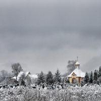 Храм Воскресіння Христового (каплиця) Борова., Боровая