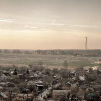 Вид на поле с горы комбинатской, Боровая