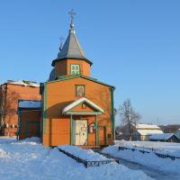 Боровая. Церковь Успения Богородицы 1902г. / Borova.  Church of the Assumption 1902, Боровая