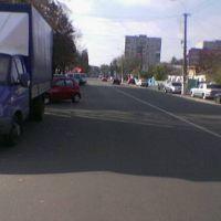 ул. Ленина, пгт.Бородянка (весна 2012), Бородянка
