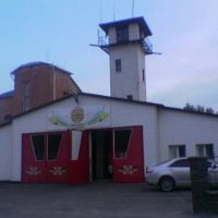 Пожарная станция в пгт. Бородянка, Бородянка
