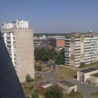 Вид с 12-го этажа, Бровары