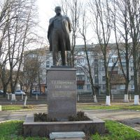 Shevchenko monument, Бровары
