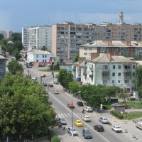 """Васильківський пейзаж з готелю """"Ярославна"""", Васильков"""