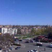 Вид с дома быта, Васильков