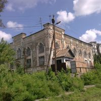 колишня синагога і вокзал * former synagogue and railway station, Васильков