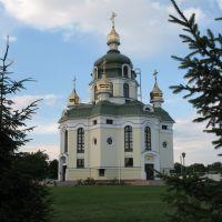 Свято-Покровська церква (споруджена 2001р.), Гребенки