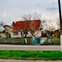 23.04.2012 16:41 Одесское шоссе. Аккуратные жилища в п.г.т.Гребенки., Гребенки
