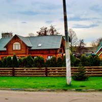 23.04.2012 16:41 Одесское шоссе. Кафе в п.г.т.Гребенки., Гребенки