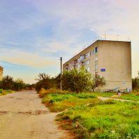 Вид с ул.Шевченко на пятиэтажные дома в глубине квартала., Дымер