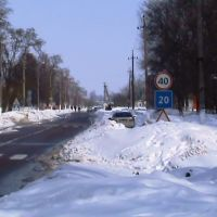 Зима в Згуровке Киевская область, Згуровка