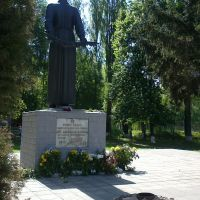 monument to soldiers, Згуровка