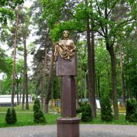 Парк и памятник академика Зарифа Азиз Алиева, Ирпень