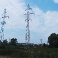 power lines, Ирпень