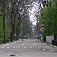 Дорога возле НУГСУ, Ирпень