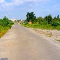 Дорога між новим і старим кладовищем, Киевская