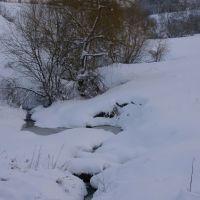under snow spring, Киевская