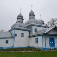 Кожанка. Миколаївська церква, збудована гайдамаками. 1758 р., Кожанка