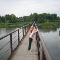 мостик через Каменку, Кожанка