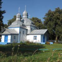Покровська церква, 1758 ♦ Pokrovska wooden church, Кожанка