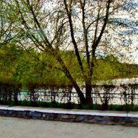 23.04.2012 17:24  Дорога Р04. Ул.Белоцерковская. Мост через реку Котлуй., Тараща