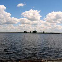 Киевское море. Вышгород.  Фото Виктора Белоусова., Вышгород