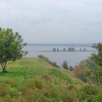 Вид с валов древнего города на Днепр / Kind from the billows of ancient city to Dnepr, Вышгород