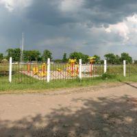 Тренажеры на стадионе имени М.М.Шишки, Алексадровка