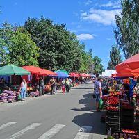 street market, Александрия