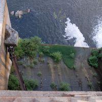 Вид з плотини ГЕС, Гайворон
