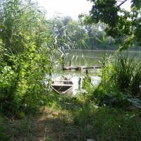 лодка, - boat, Гайворон