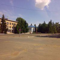 Main square, Добровеличковка