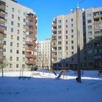 Мой двор зимой, Долинская