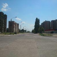 Вид на улицу Новая, Долинская