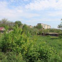 Провулок Колгоспний. Вид на вул. Радянська, Долинская
