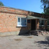 Відділ культури та туризму Долинської районної державної адміністрації знаходиться у цій будівлі, Долинская
