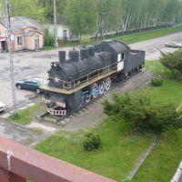 паровоз на станции долинская, Долинская