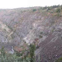 Zavallya, quarry on the booty of graphite, Завалье