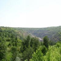 Zavallya, quarry on the booty of graphite (Завалля, карєр з видобутку графіту), Завалье