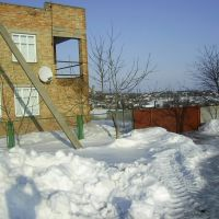 сугробы  2010г., Знаменка