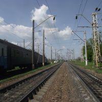 на границе между двумя станциями, Знаменка