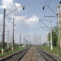 восточная горловина сортировочной станции, Знаменка