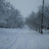 Зима в посёлке, Знаменка-Вторая