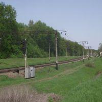 пути со Знаменки и рзд.5 км  на п.п. Западный, Знаменка-Вторая