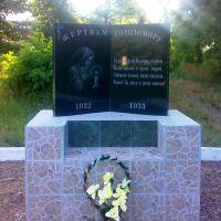 Памятник жертвам Голодомору, Новомиргород