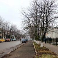Панорама. Улица Ленина в Новоукраинке., Новоукраинка